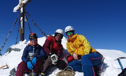 Top of Austria: Viola, Benni, Birgit